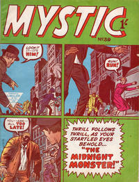 Cover Thumbnail for Mystic (L. Miller & Son, 1960 series) #39