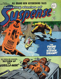 Cover Thumbnail for Amazing Stories of Suspense (Alan Class, 1963 series) #25