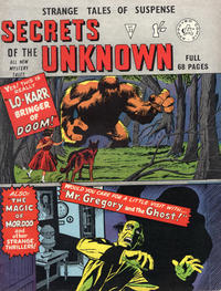 Cover Thumbnail for Secrets of the Unknown (Alan Class, 1962 series) #33