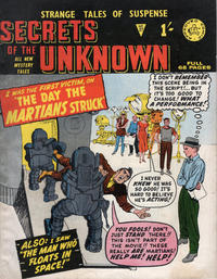 Cover Thumbnail for Secrets of the Unknown (Alan Class, 1962 series) #27