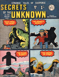 Cover Thumbnail for Secrets of the Unknown (Alan Class, 1962 series) #28