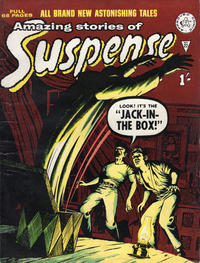 Cover Thumbnail for Amazing Stories of Suspense (Alan Class, 1963 series) #22