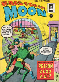 Cover Thumbnail for Race for the Moon (Thorpe & Porter, 1962 ? series) #6