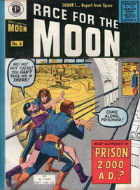Cover Thumbnail for Race for the Moon (Thorpe & Porter, 1959 ? series) #6
