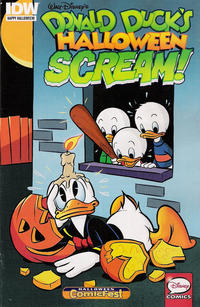 Cover Thumbnail for Donald Duck's Halloween Scream (IDW, 2015 series) #1