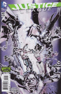 Cover Thumbnail for Justice League (DC, 2011 series) #45 [Monsters of the Month Cover Variant]