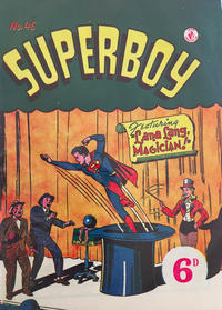 Cover Thumbnail for Superboy (K. G. Murray, 1949 series) #46 [Price difference]