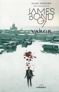 Cover for James Bond (Dynamite Entertainment, 2015 series) #1 [Cover C Retailer Incentive Francavilla]