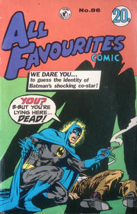 Cover Thumbnail for All Favourites Comic (K. G. Murray, 1960 series) #86