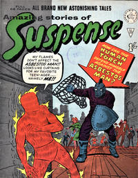 Cover Thumbnail for Amazing Stories of Suspense (Alan Class, 1963 series) #33