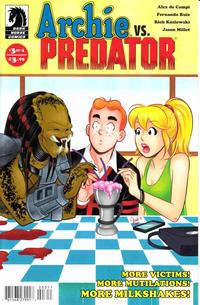 Cover Thumbnail for Archie vs. Predator (Dark Horse, 2015 series) #3