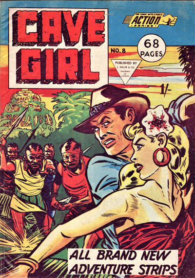 Cover for Action Series (L. Miller & Son, 1958 series) #8