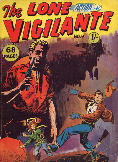 Cover for Action Series (L. Miller & Son, 1958 series) #9