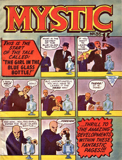 Cover for Mystic (L. Miller & Son, 1960 series) #35