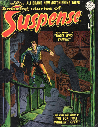 Cover for Amazing Stories of Suspense (Alan Class, 1963 series) #9