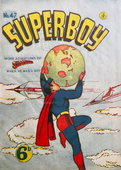 Cover for Superboy (K. G. Murray, 1949 series) #47 [Price difference]