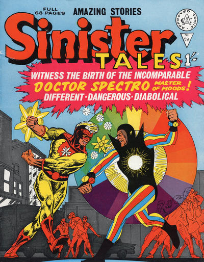 Cover for Sinister Tales (Alan Class, 1964 series) #59