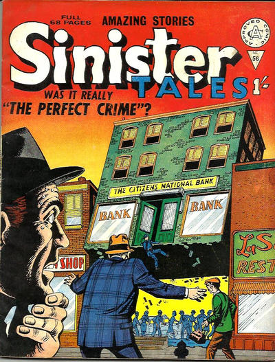 Cover for Sinister Tales (Alan Class, 1964 series) #56