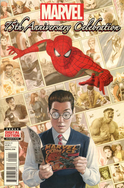 Cover for Marvel 75th Anniversary Celebration (Marvel, 2014 series) #1