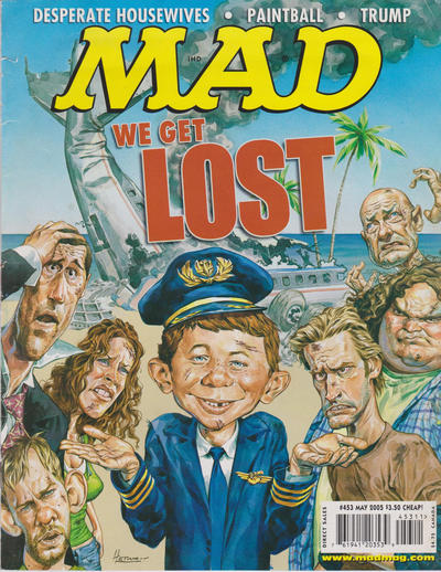 Cover for MAD (EC, 1952 series) #453