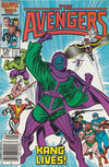 Cover Thumbnail for The Avengers (1963 series) #267 [Newsstand Edition]