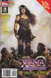 Cover for Xena: Warrior Princess: And the Original Olympics (Topps, 1998 series) #3