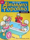 Cover for Almanacco Topolino (Arnoldo Mondadori Editore, 1957 series) #20