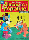 Cover for Almanacco Topolino (Arnoldo Mondadori Editore, 1957 series) #21