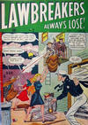 Cover for Lawbreakers Always Lose (Bell Features, 1948 series) #2