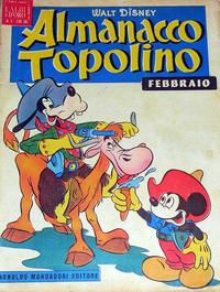 Cover Thumbnail for Almanacco Topolino (Arnoldo Mondadori Editore, 1957 series) #2