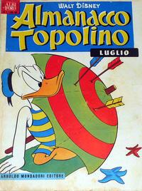 Cover Thumbnail for Almanacco Topolino (Arnoldo Mondadori Editore, 1957 series) #7