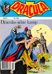 Cover Thumbnail for Dracula (Winthers Forlag, 1982 series) #23