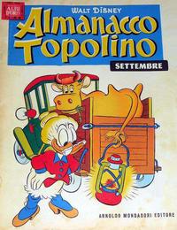 Cover Thumbnail for Almanacco Topolino (Arnoldo Mondadori Editore, 1957 series) #9
