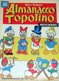 Cover Thumbnail for Almanacco Topolino (Arnoldo Mondadori Editore, 1957 series) #11