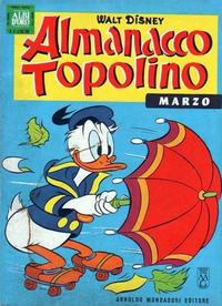 Cover Thumbnail for Almanacco Topolino (Arnoldo Mondadori Editore, 1957 series) #87