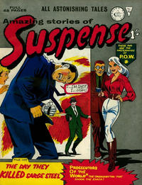 Cover Thumbnail for Amazing Stories of Suspense (Alan Class, 1963 series) #70