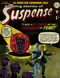 Cover Thumbnail for Amazing Stories of Suspense (Alan Class, 1963 series) #95