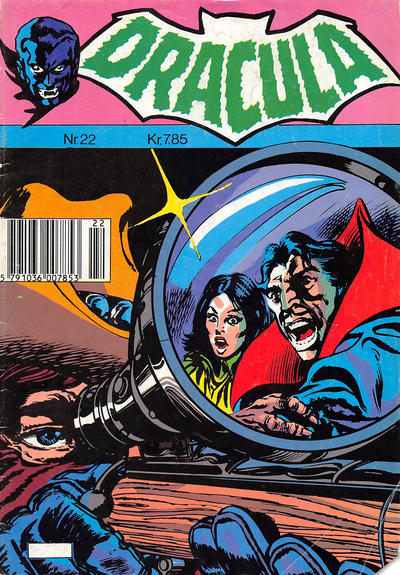 Cover for Dracula (Winthers Forlag, 1982 series) #22