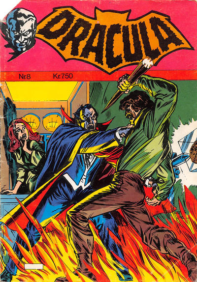 Cover for Dracula (Winthers Forlag, 1982 series) #8