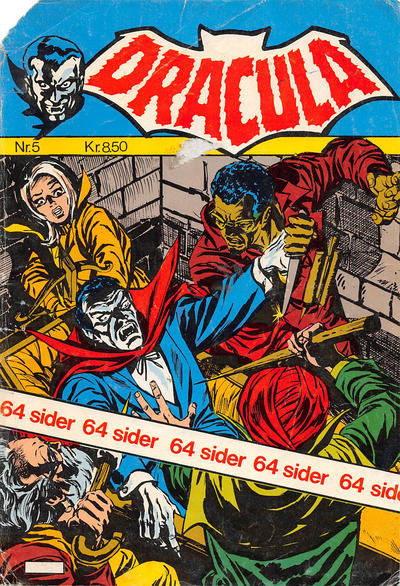 Cover for Dracula (Winthers Forlag, 1982 series) #5