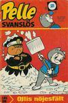 Cover for Pelle Svanslös (Semic, 1965 series) #2/1970