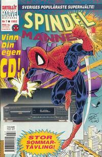 Cover Thumbnail for Spindelmannen (SatellitFörlaget, 1988 series) #7/1992