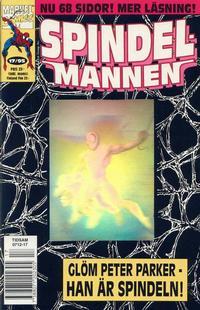 Cover Thumbnail for Spindelmannen (SatellitFörlaget, 1988 series) #17/1995