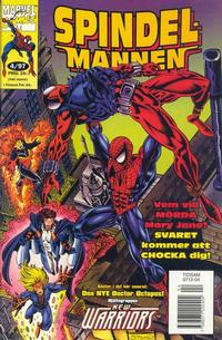 Cover Thumbnail for Spindelmannen (Semic, 1997 series) #4/1997