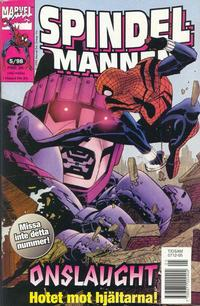 Cover Thumbnail for Spindelmannen (Egmont, 1997 series) #5/1998