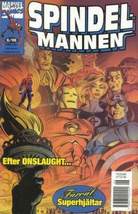 Cover Thumbnail for Spindelmannen (Egmont, 1997 series) #6/1998