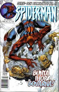 Cover Thumbnail for Spider-Man (Egmont, 1999 series) #4/2002