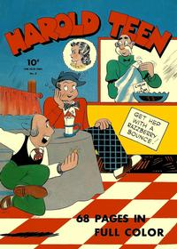 Cover Thumbnail for Four Color (Dell, 1942 series) #2 - Harold Teen