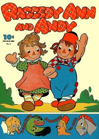 Cover Thumbnail for Four Color (Dell, 1942 series) #5 - Raggedy Ann and Andy