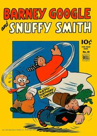 Cover Thumbnail for Four Color (Dell, 1942 series) #40 - Barney Google and Snuffy Smith